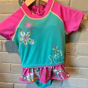 Speedo Girl's Swimsuit w/built-in floatation vest